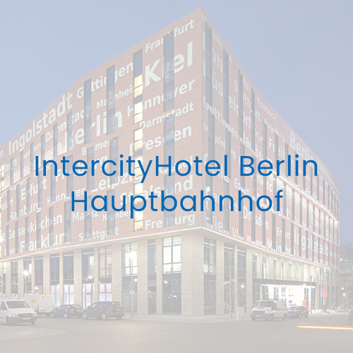 Referenz IntercityHotel Berlin Hauptbahnhof